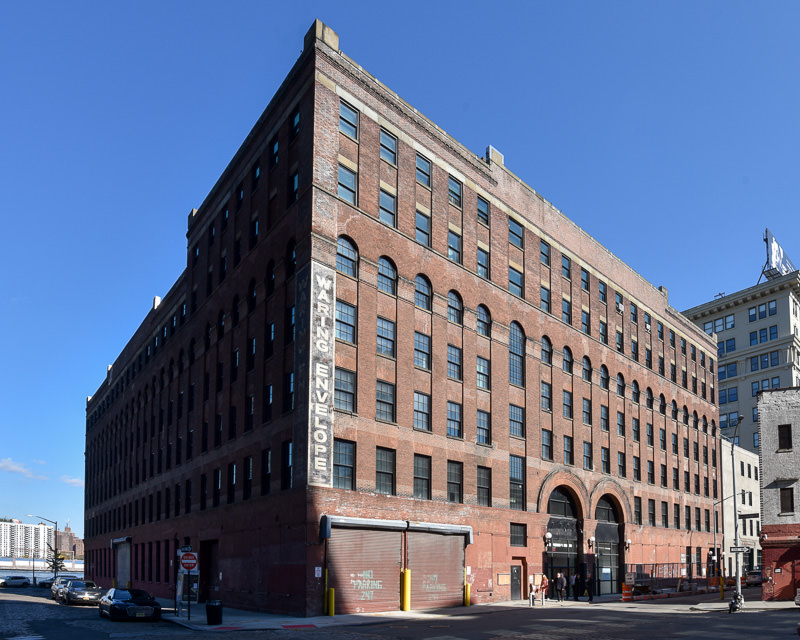Converted red brick historic industrial building