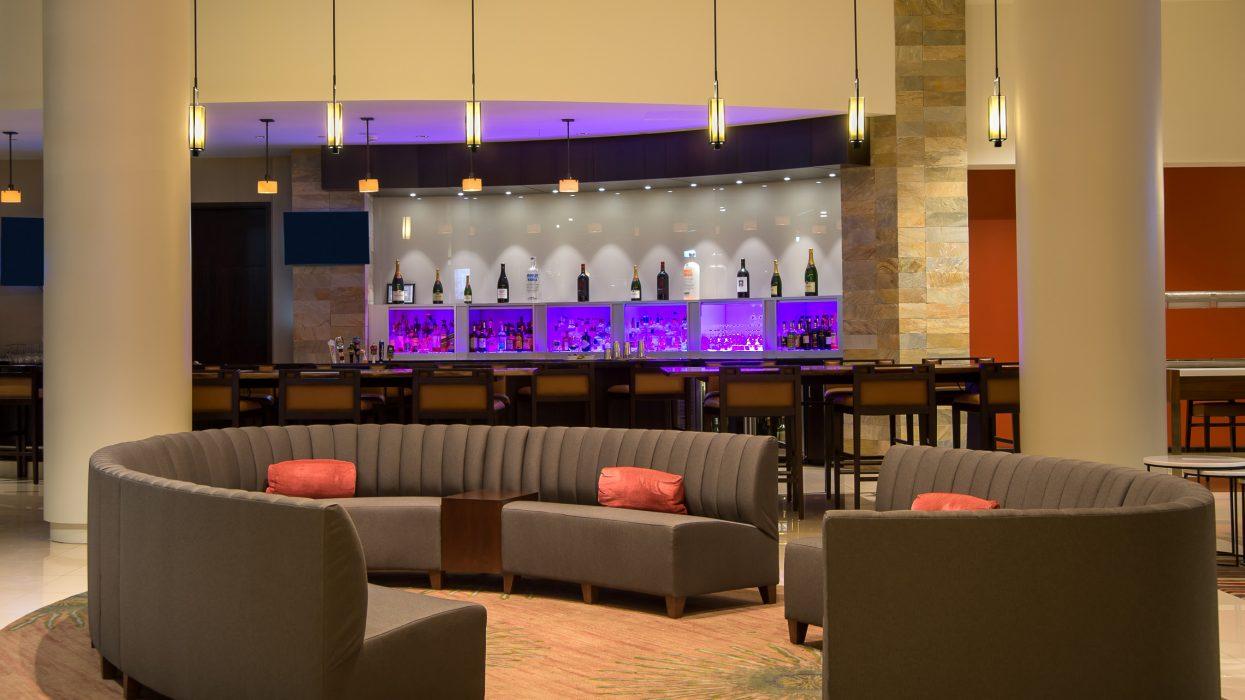Interior at lounge