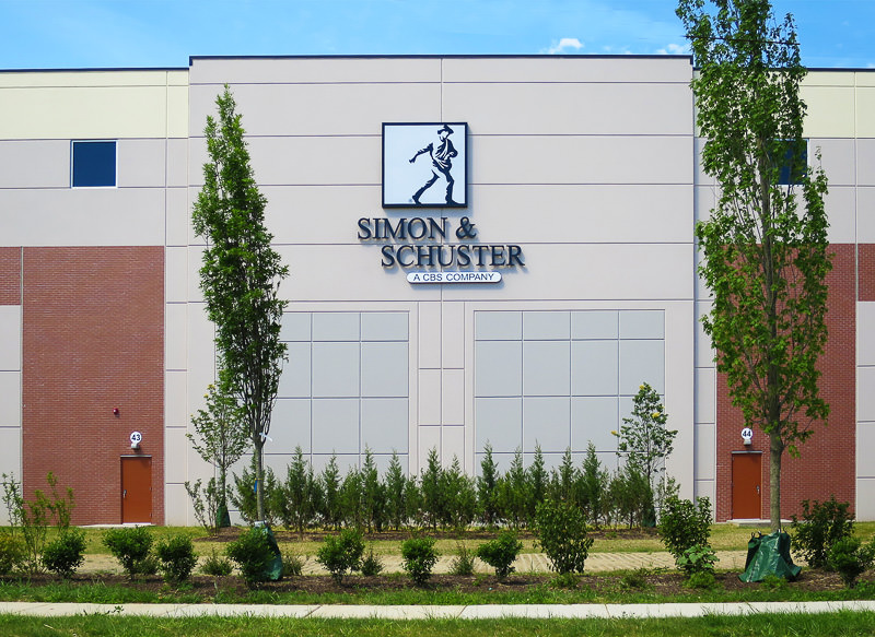 Exterior view of building signage