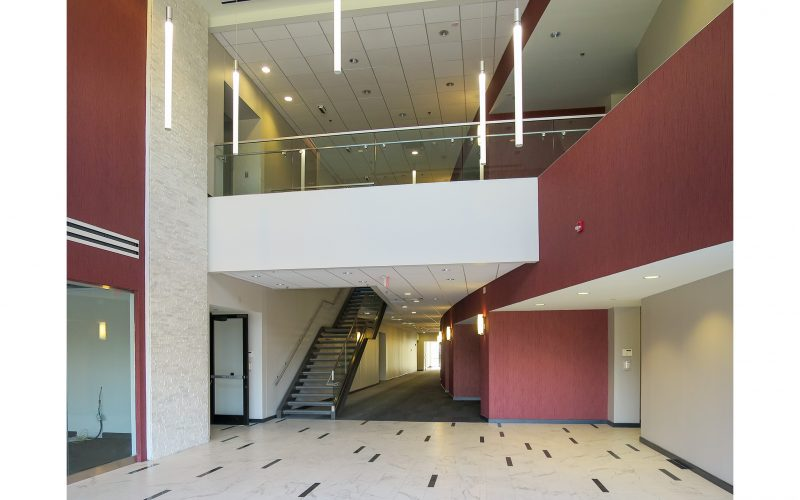 Commercial lobby interior