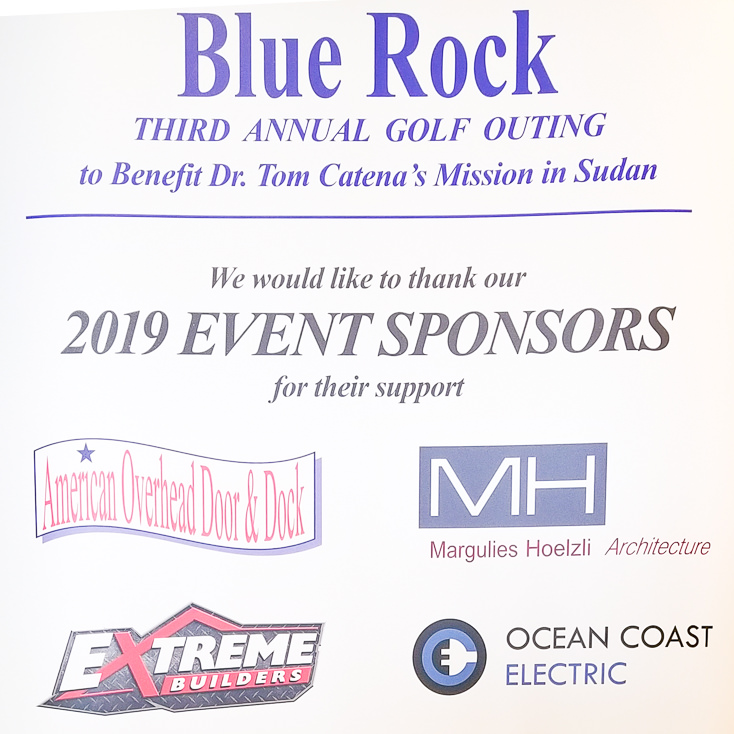 List of Sponsors for Nuba Golf Outing