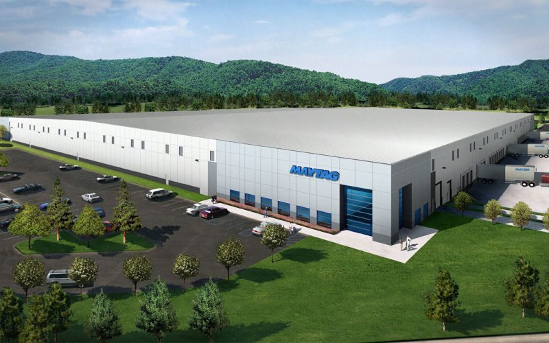 Rendering of Maytag distribution facility