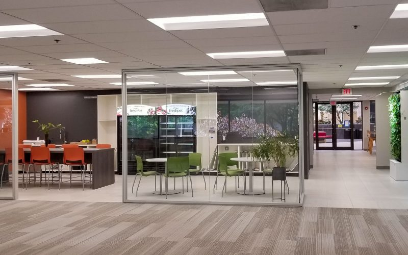 View of office interior
