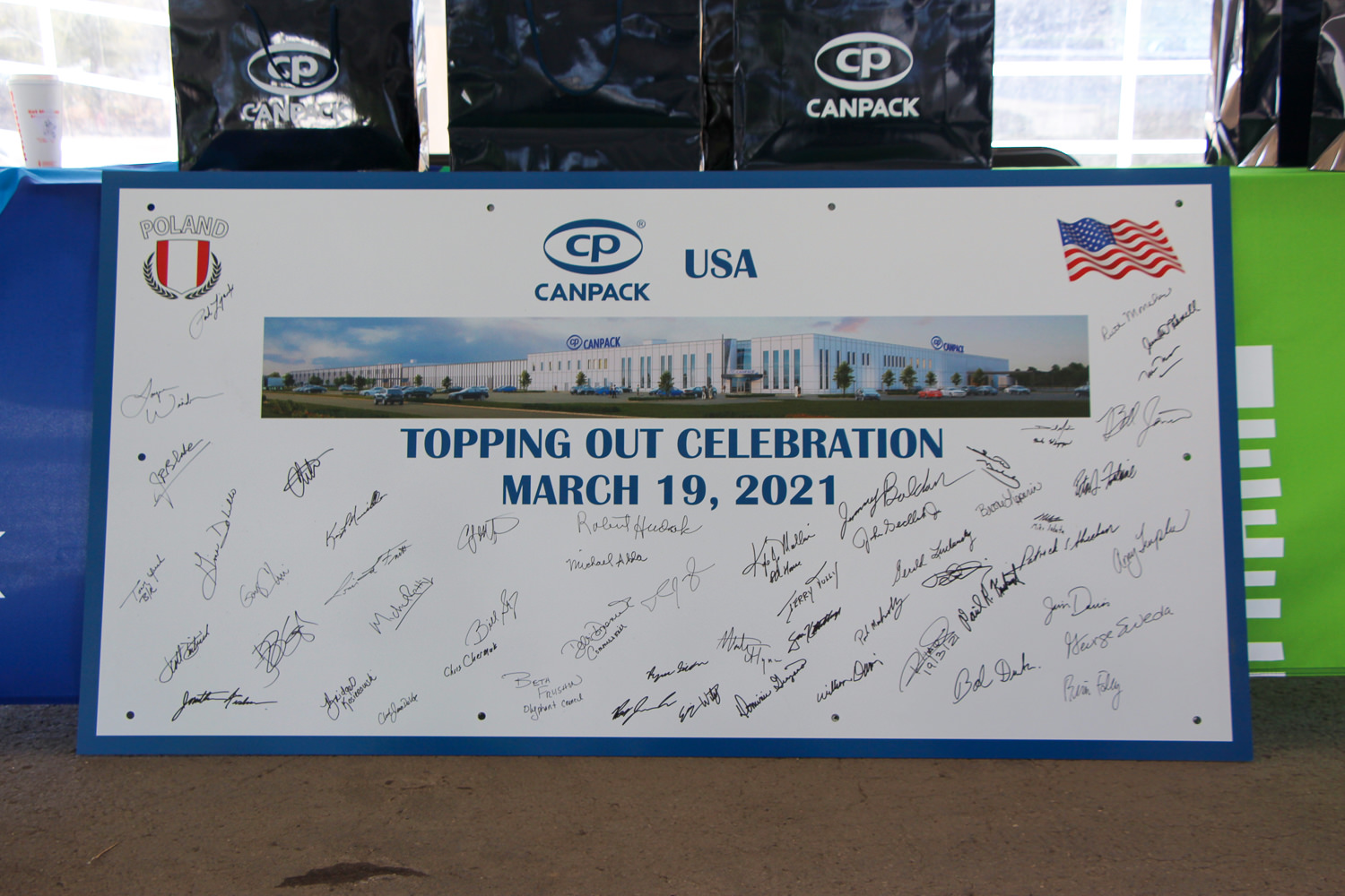 Signed sign